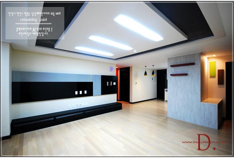 모던[black&white]스타일 리모델링/개봉동 현대아이파크아파트 ...