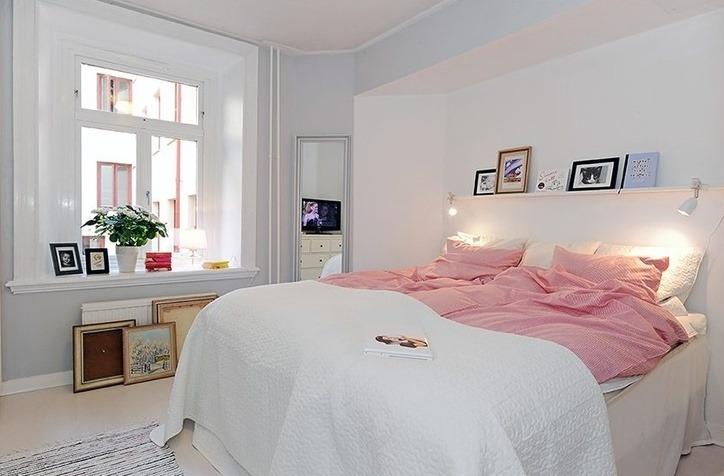 Peinture Pour Chambre Romantique Rose Pale Et Vert Deau - Peinture ...