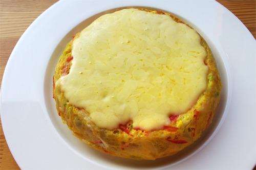 도톰한 계란고구마프리타타