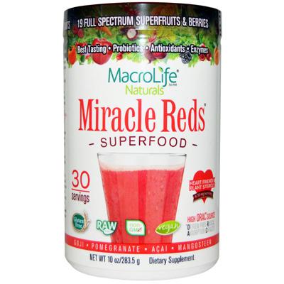 미라클레드 수퍼푸드 과일분말 영양제 / Miracle Reds SuperFood Powder
