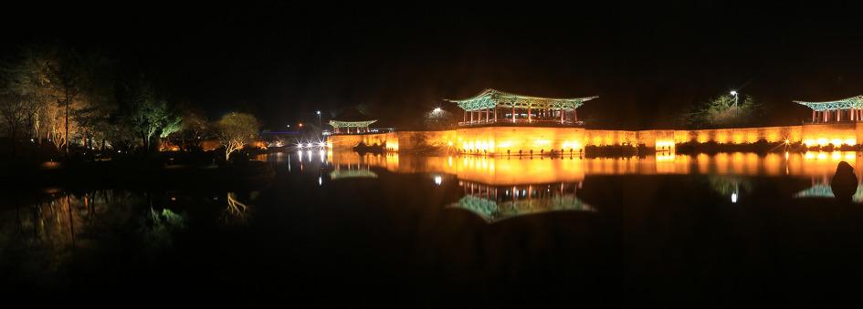 밤이  아름다운 경주