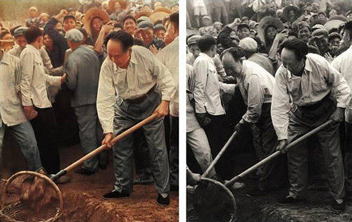 고쳐진 역사사진들