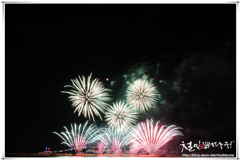 [▶] 천사대교 개통식 불꽃놀이 작업현장 드론촬영(MAVIC2PRO.전라남도신안군압해도)