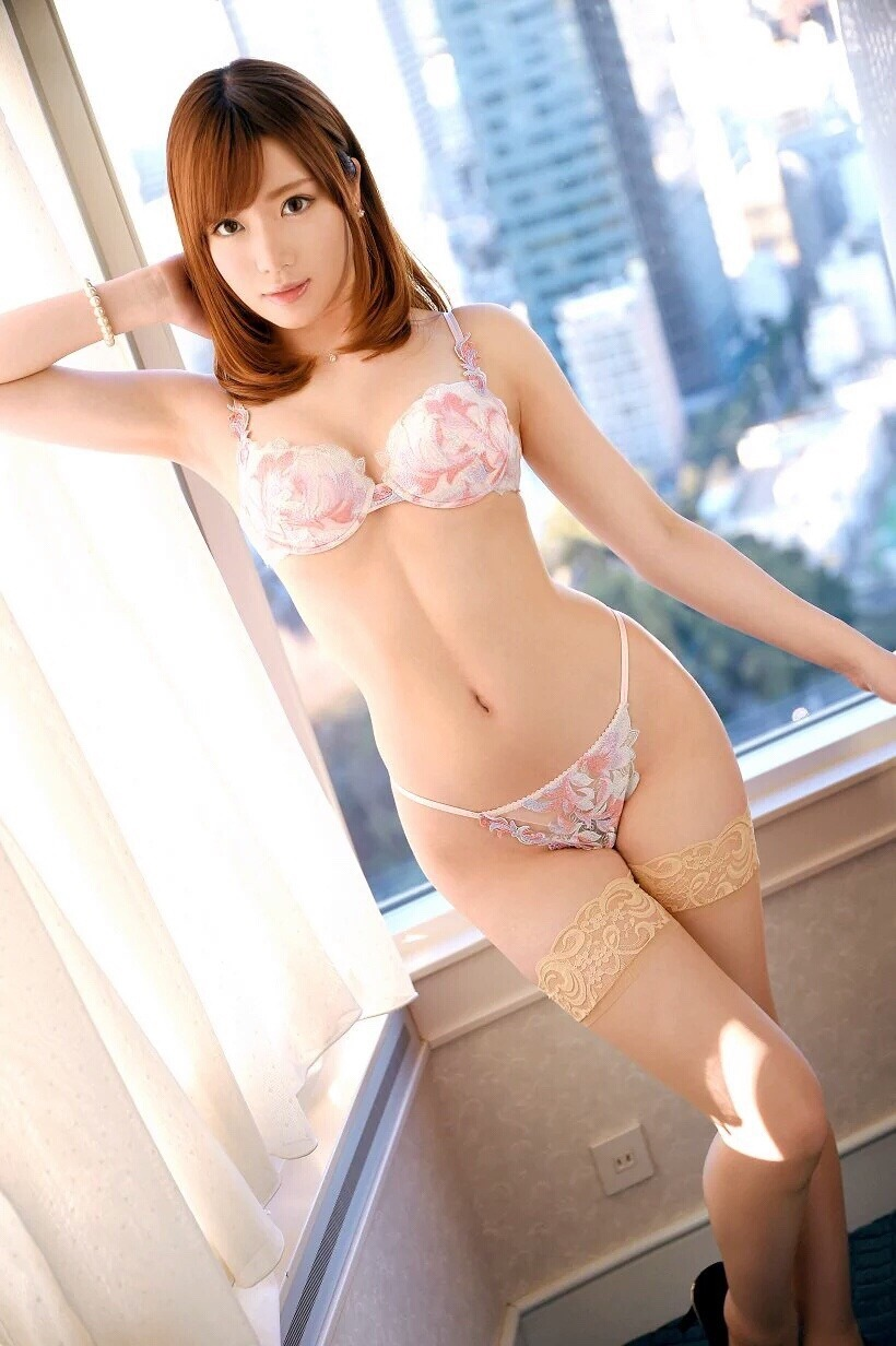 cool girl in lingerie