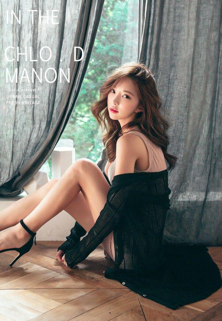 beautiful Korean model